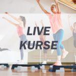 Live Fitness Kurse - Aerobic Step - Instructor