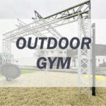Outdoor Gym - Fitnessstudio im freien.