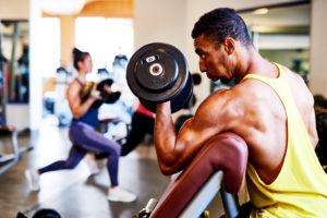 Krafttraining - Classic Gym - Hanteltraining - Muskeln - Fitnessstudio Angebot